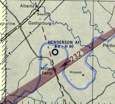 Abandoned & Little-Known Airfields: Alabama, Montgomery area