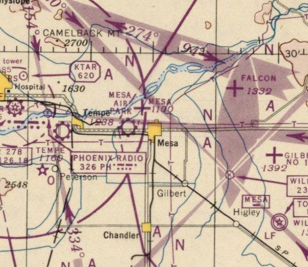 Abandoned & Little-Known Airfields: Arizona: Northeastern
