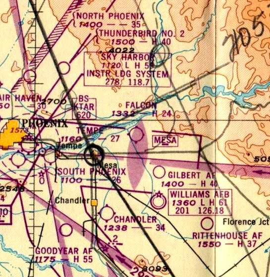 Abandoned & Little-Known Airfields: Arizona: Southeastern Phoenix
