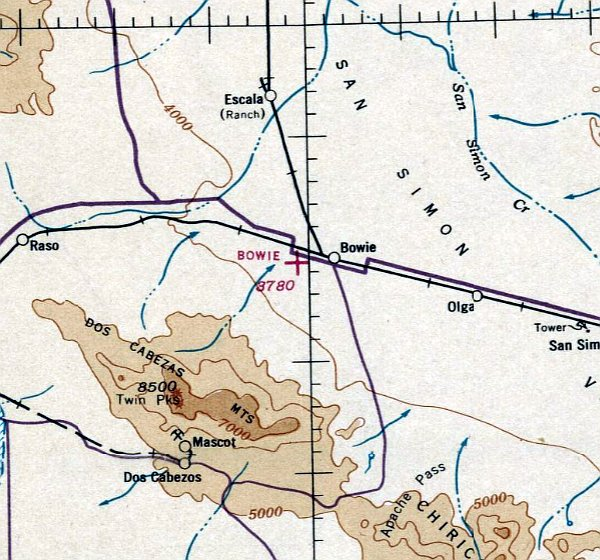 Abandoned & Little-Known Airfields: Southeastern Arizona