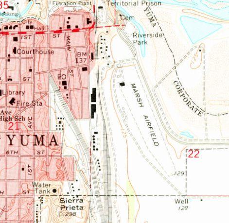 Abandoned LittleKnown Airfields Arizona Yuma area