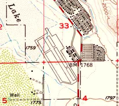 Map Of California 29 Palms.Abandoned Little Known Airfields California Southeastern San