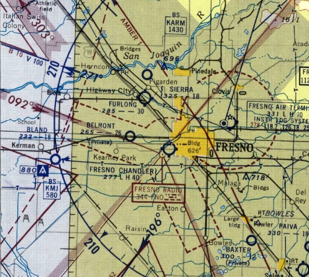 Abandoned & Little-Known Airfields: California: Northern Fresno area