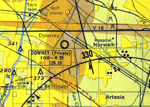 A 1956 Street Map Courtesy Of Kevin Walsh Labeled The Property As North American Aviation Inc Downey Plant