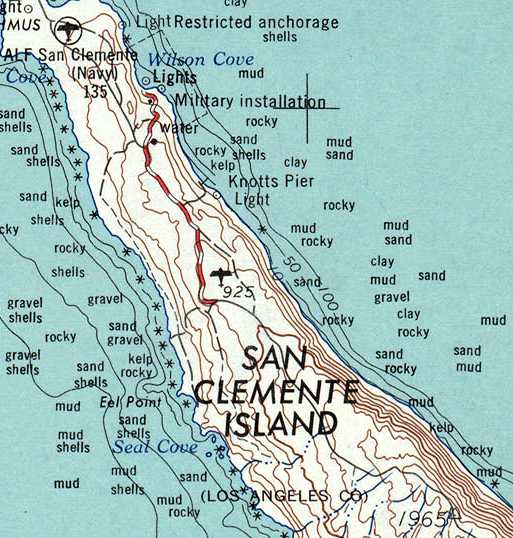The Last Depiction Which Has Been Located Of The Original San Clemente Airfield