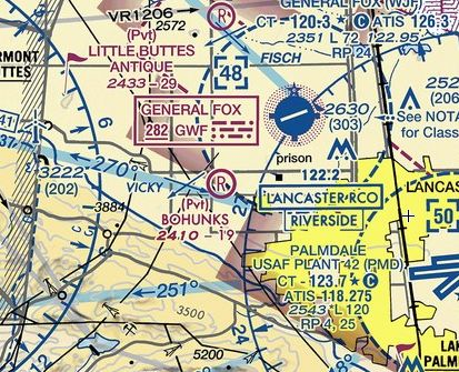 Abandoned & Little-Known Airfields: California: Northern Palmdale area
