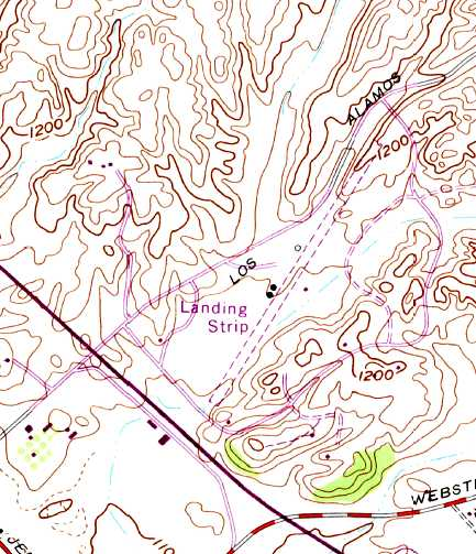 Murrieta Hot Springs Airport Was Labeled Simply As Landing Strip On The 1973 Usgs Topo Map