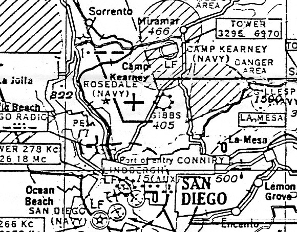 abandoned little known airfields california southern san diego area 1930s House Interiors the earliest aeronautical chart depiction which has been located of rosedale field