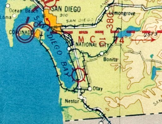 Abandoned & Little-Known Airfields: California: Southern San Diego area