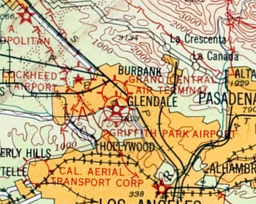 Abandoned & Little-Known Airfields: California, Central Los Angeles area