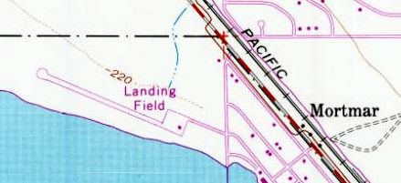 The North S Runway Was Still Depicted On The 1974 Usgs Topo Map But It Was Labeled Simply Landing Field