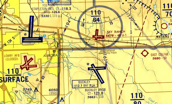 Abandoned Little Known Airfields Colorado Northeastern Denver Area