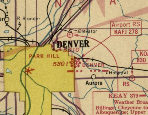 Denver Gang Map on