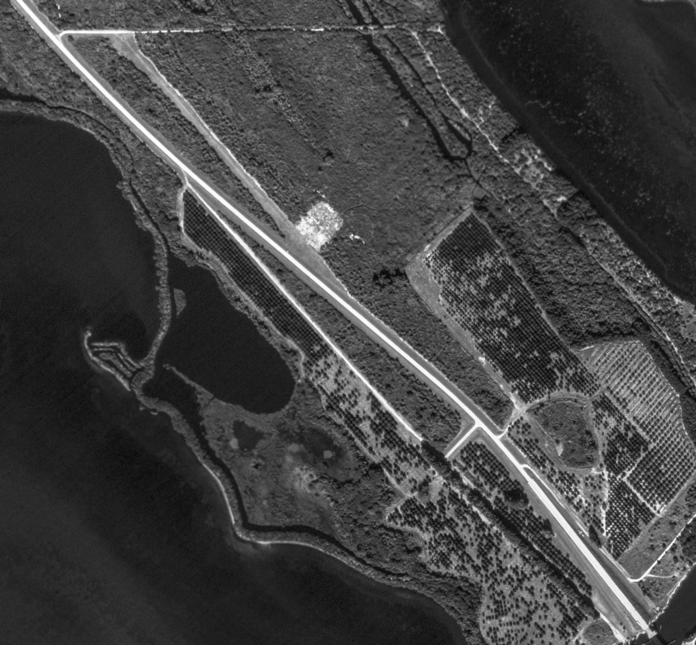Abandoned  LittleKnown Airfields Florida Daytona Beach Area - Florida map daytona area