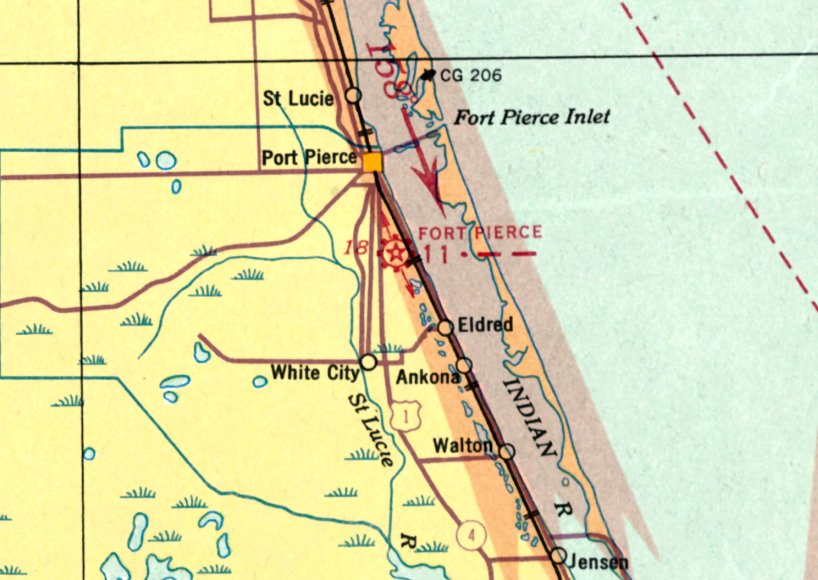 Ft Lauderdale On Map Of Florida.Abandoned Little Known Airfields Florida Fort Lauderdale Area