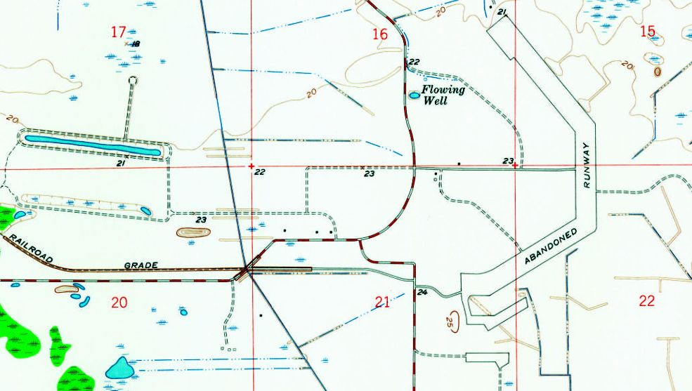 Ft Myers Map Of Florida.Abandoned Little Known Airfields Florida Ft Myers Area