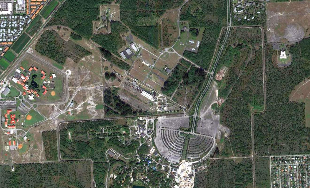 Abandoned  LittleKnown Airfields Florida Southern Miami Area - Map of us military bases in florida