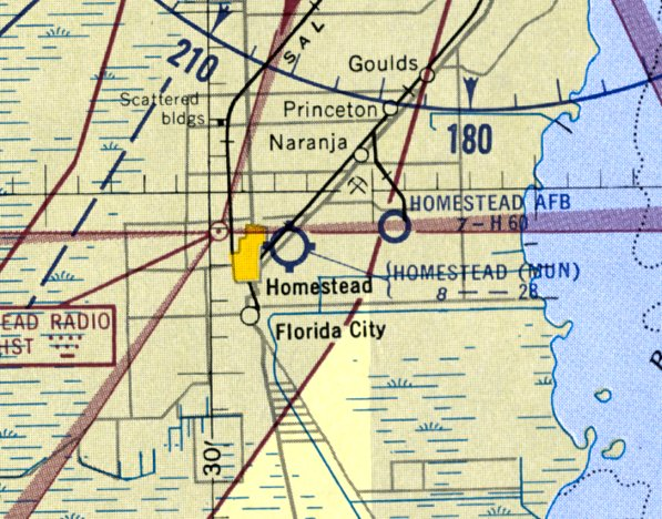 Map Miami Florida.Abandoned Little Known Airfields Florida Southern Miami Area