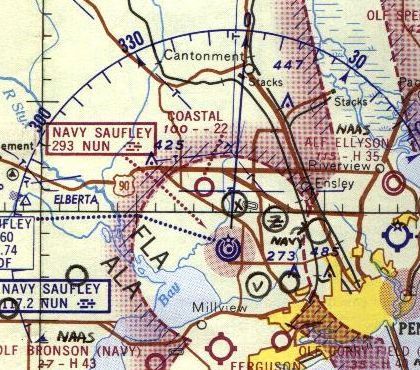 Abandoned Little Known Airfields Florida Northwestern Pensacola Area