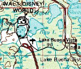 Disney Florida Map.Abandoned Little Known Airfields Florida Southwestern Orlando Area