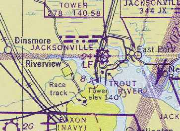 Abandoned & Little-Known Airfields: Florida: Northeastern Jacksonville