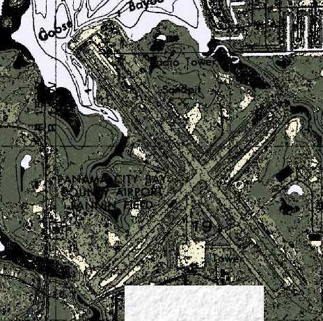 map of panama city beach fl. Panama City Beach, FL (Map