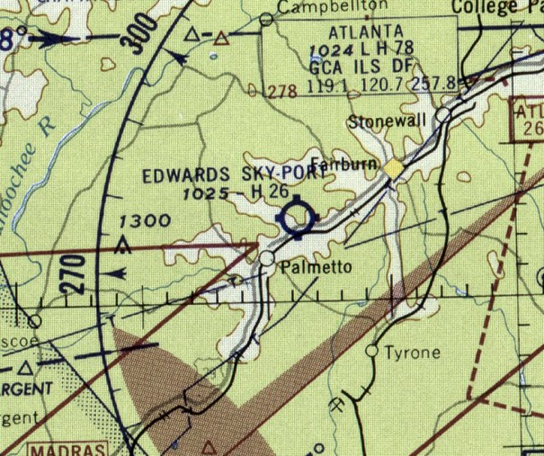 According To Its Faa Airport Facility Directory Data Edwards Sky Port South Fulton Airport Was Activated In March 1957