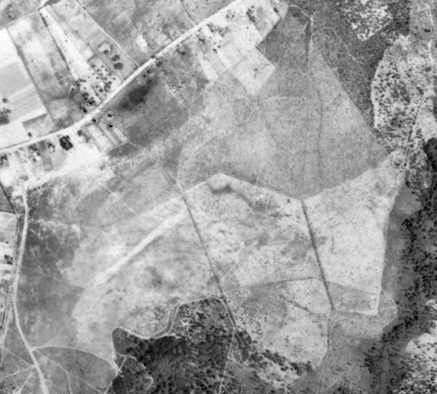 A 5 13 38 USGS Aerial View Courtesy Of Jim Preston Depicted Miller Field Possibly After Its Closing