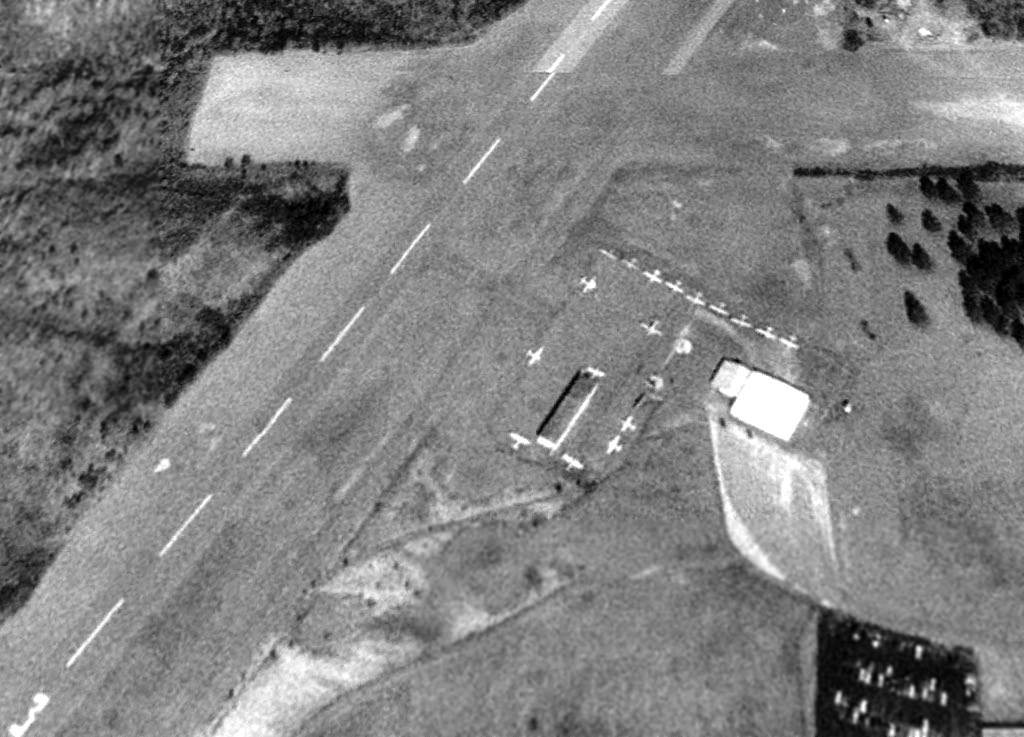 A 1 26 93 Aerial View Courtesy Of David Henderson Showed Grant Memorial Airport Perhaps At Its Zenith Popularity