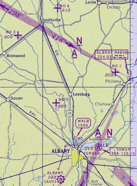 Abandoned LittleKnown Airfields Southwestern Georgia - Georgia map military bases