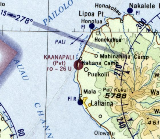 Hawaii Map Maui.Abandoned Little Known Airfields Hawaii Maui Island