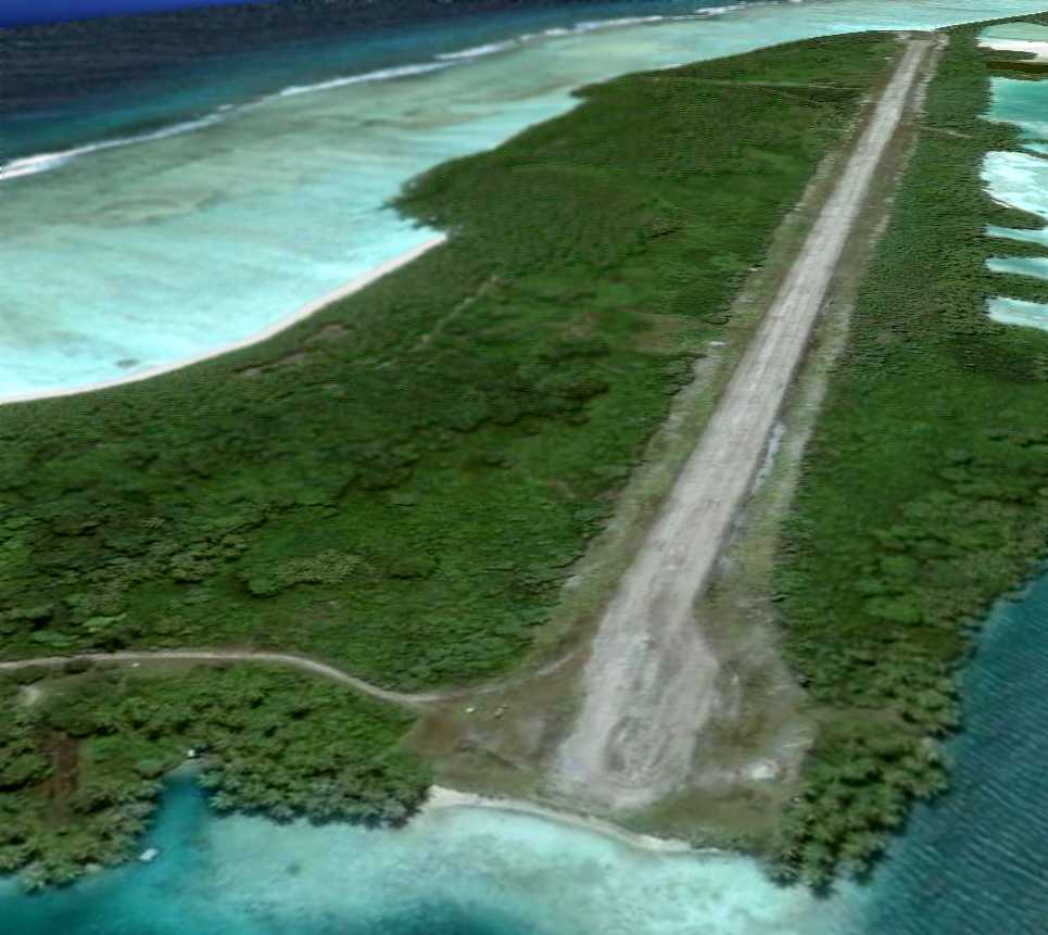 An August 1, 2005 aerial view looking northeast along the single ... Joe Freeman