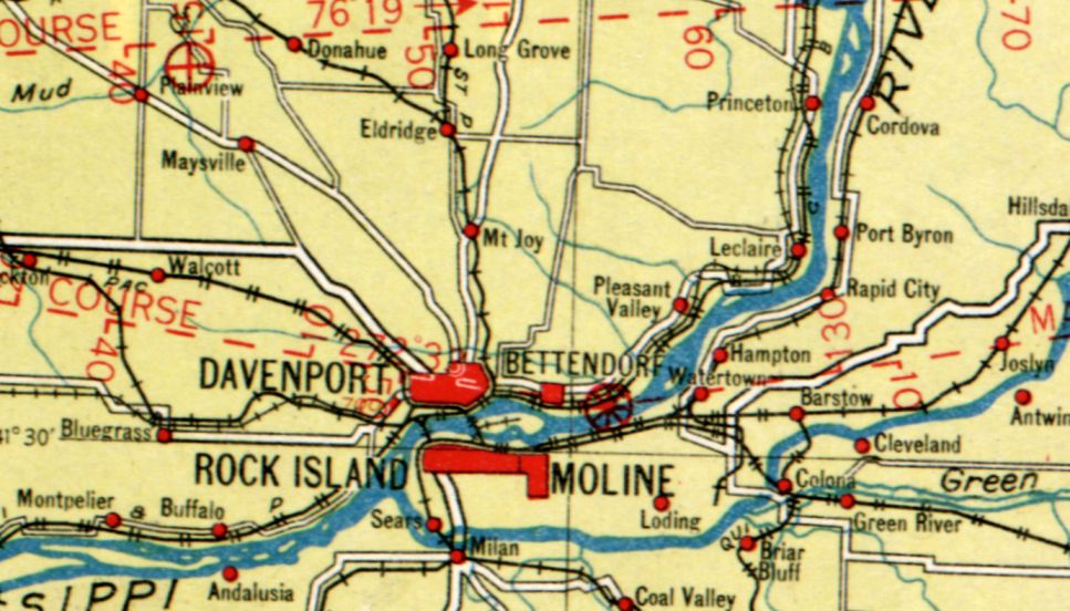Abandoned LittleKnown Airfields Eastern Iowa - Map of eastern iowa