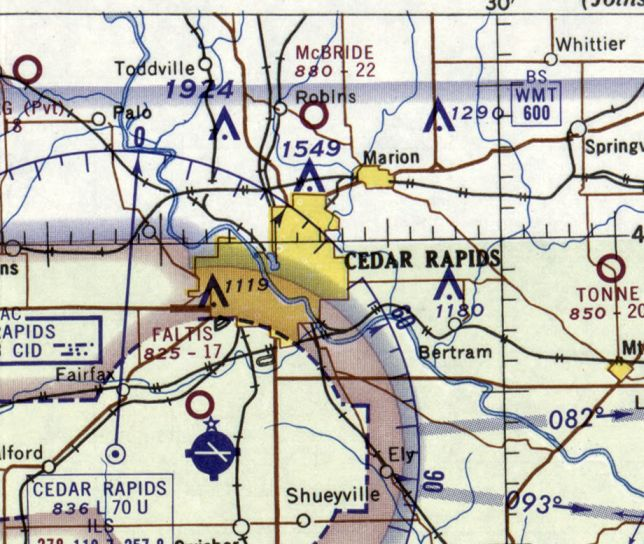 Hiawatha Iowa Map.Abandoned Little Known Airfields Eastern Iowa
