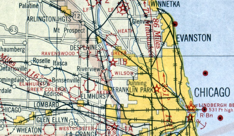 Abandoned LittleKnown Airfields Illinois Northern Chicago Area - Airports in illinois