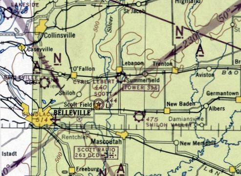 Abandoned Little Known Airfields Southwestern Illinois