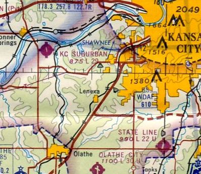 Abandoned little known airfields eastern kansas the august 1965 kansas city sectional chart courtesy of ron kunse gumiabroncs Gallery