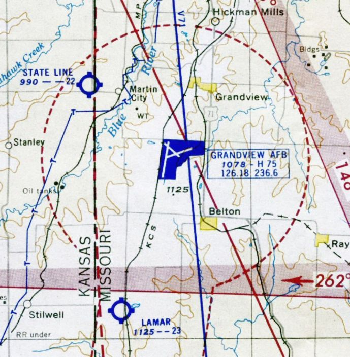 Abandoned LittleKnown Airfields Eastern Kansas - Kansas state map with cities