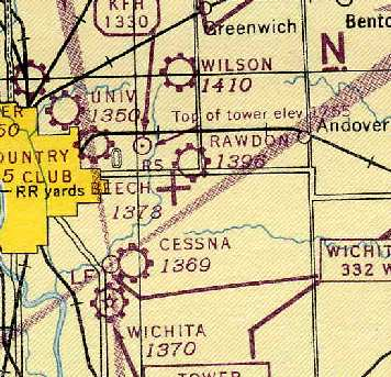 Abandoned & Little-Known Airfields: Kansas: Wichita area