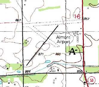 Abandoned Little Known Airfields Eastern Michigan