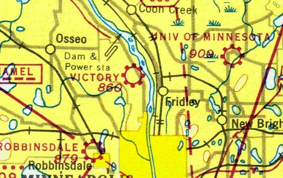 U Of Minnesota Map.Abandoned Little Known Airfields Minnesota Minneapolis St