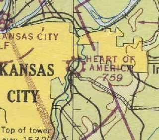 Map Of America Kansas City.Abandoned Little Known Airfields Northwestern Missouri