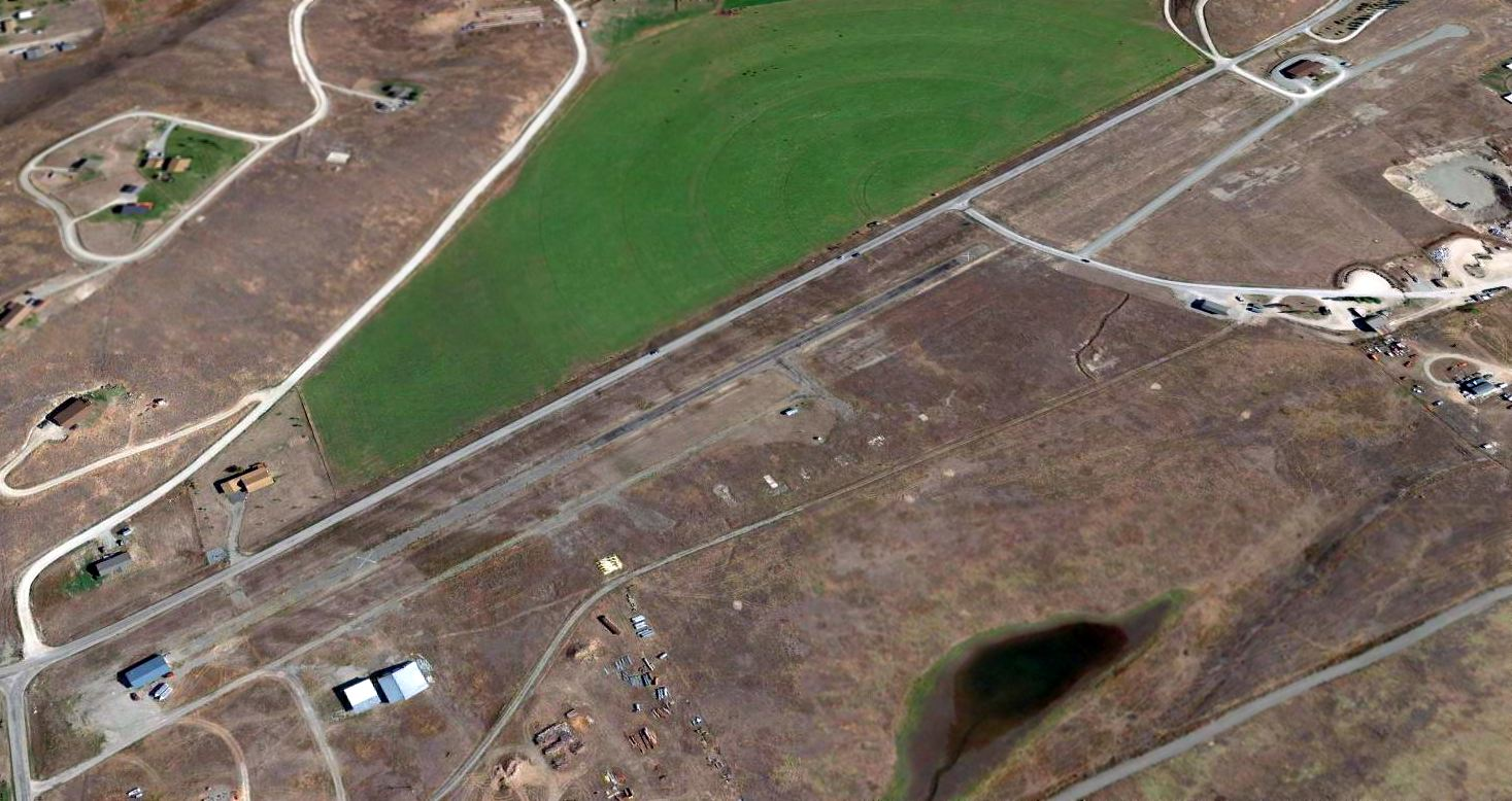Abandoned & Little-Known Airfields: Western Montana