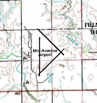 Abandoned Little Known Airfields Southeastern Nebraska