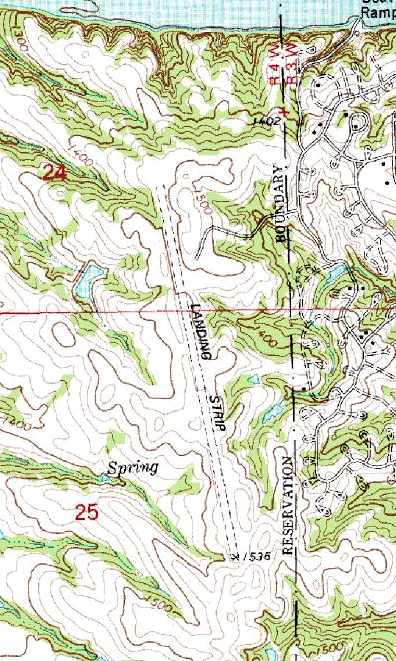 Devils Tower Topographic Map