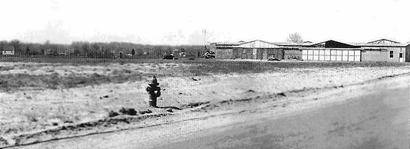 A 1948 View Of The T Hangars At Barrington Airport (courtesy Of The  Barrington Historical Society, Via Scott Roberts).