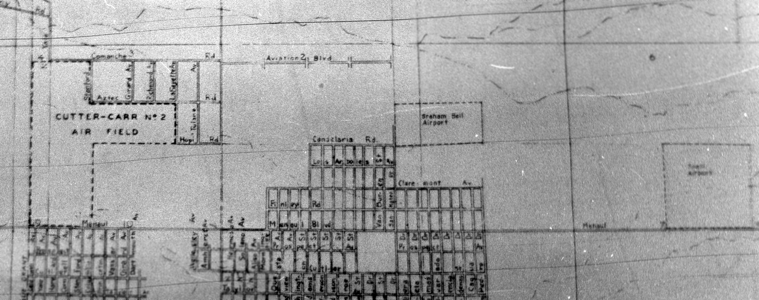 Abandoned little known airfields new mexico albuquerque area a 1946 city of albuquerque map courtesy of matt franklin depicted cutter carr 2 air field along with the nearby graham bell airport another airport nvjuhfo Gallery