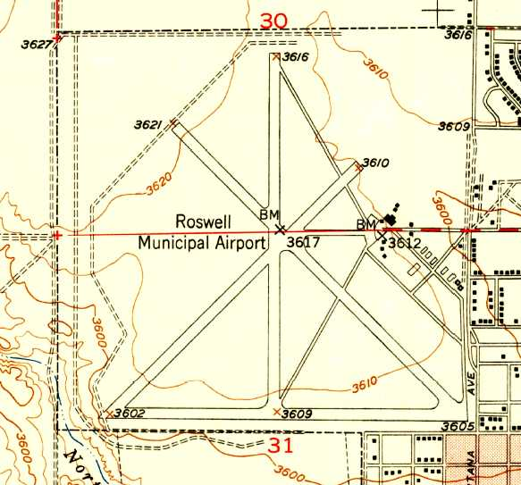Abandoned & Little-Known Airfields: New Mexico: Roswell Area