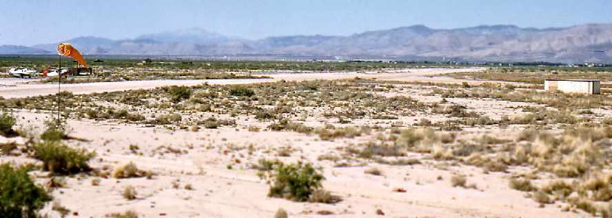 White Sands Missile Range Runway