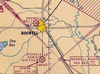 Abandoned Little Known Airfields New Mexico Roswell Area